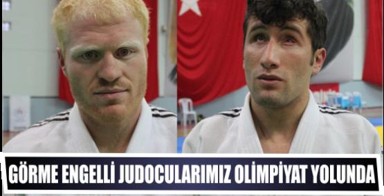 Görme Engelli Judocularımız Olimpiyat Yolunda