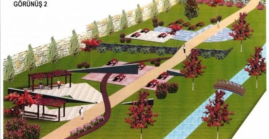 Gültepe Mahallesi'ne 40 dönümlük park