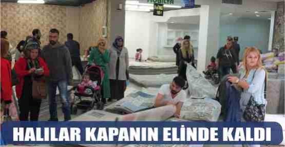 HALILAR KAPANIN ELİNDE KALDI