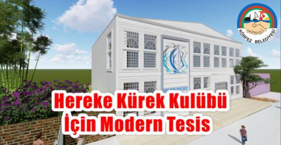 Hereke Kürek Kulübü  için modern tesis