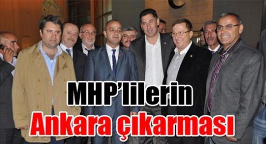 MHP'lilerin Ankara çıkarması