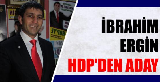 İbrahim Ergin HDP'den aday