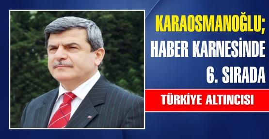 İbrahim Karaosmanoğlu 6. sırada