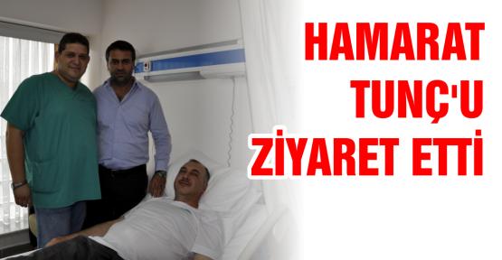 İlk ziyaret Hamarat'tan