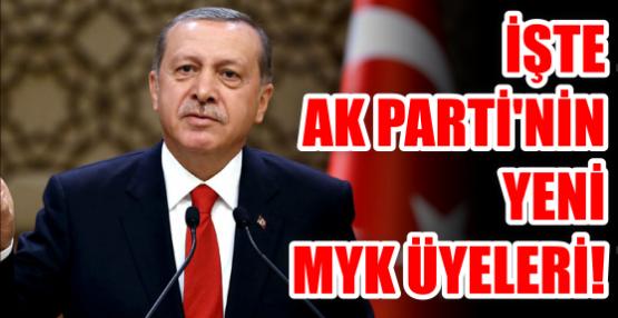 İşte AK Parti'nin yeni MYK üyeleri!