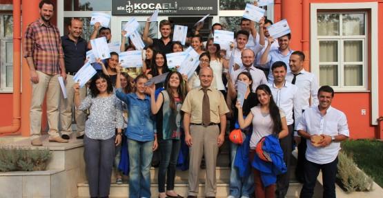 İZAYDAŞ Akademi 14. mezunlarını verdi