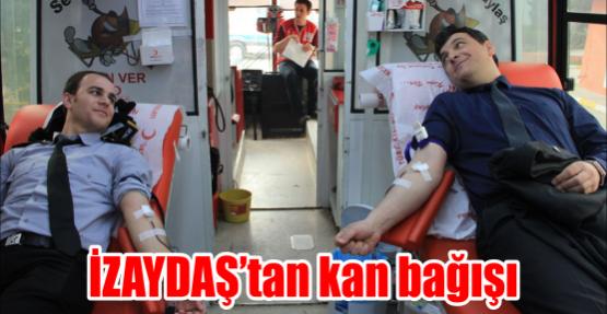 İZAYDAŞ'tan kan bağışı