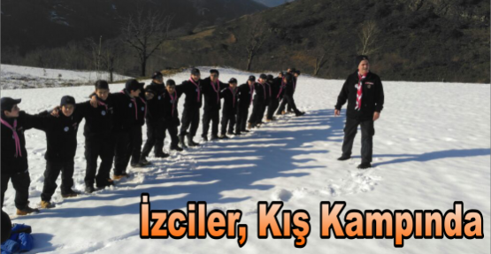 İZCİLER, KIŞ KAMPINDA
