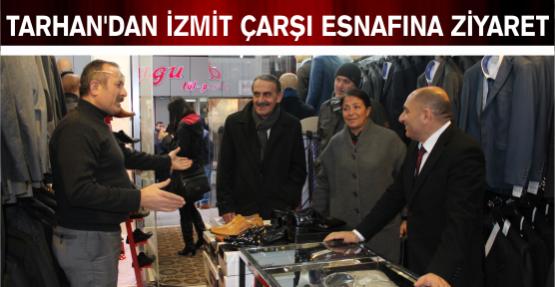 İzmit çarşı esnafı, belediyeyi  Tahsin Tarhan'a şikayet etti