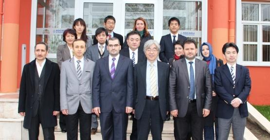 JAPON ve BM heyeti, İZAYDAŞ'ta