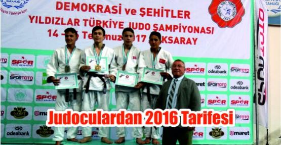 Judoculardan 2016 Tarifesi