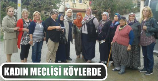 KADIN MECLİSİ KÖYLERDE