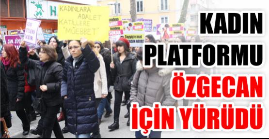 Kadın Platformu, Özgecan için yürüdü