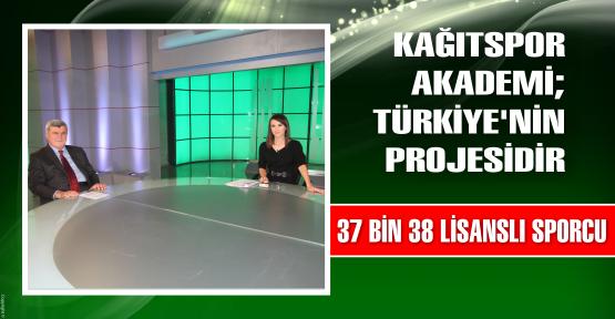 Kağıtspor Akademi Türkiye'nin Projesidir