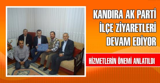 Kandıra AK Parti İlçe ziyaretleri