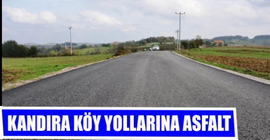 KANDIRA KÖY YOLLARINA ASFALT