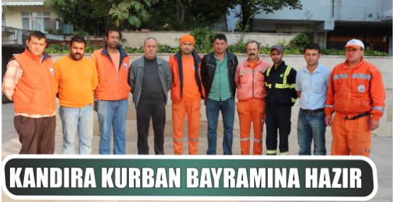 KANDIRA KURBAN BAYRAMINA  HAZIR