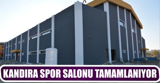 KANDIRA SPOR SALONU TAMAMLANIYOR