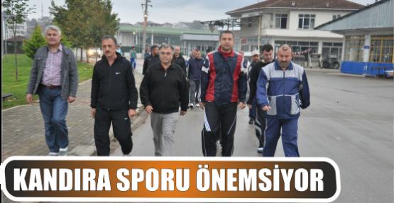 KANDIRA SPORU ÖNEMSİYOR