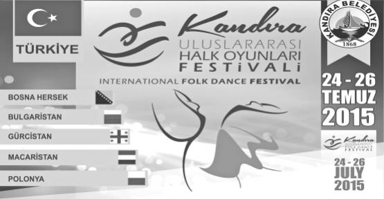 Kandıra Uluslararası Halk Oyunları Festivali İptal edildi