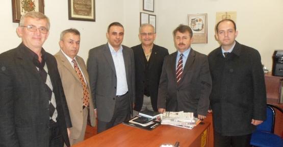 Kandıralılar BBP İl Başkanı Serhat Duyar'ı ziyaret etti