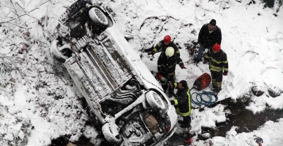 Kar Timi kaza için seferber oldu