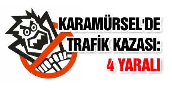 Karamürsel'de Trafik Kazası: 4 Yaralı