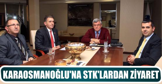KARAOSMANOĞLU'NA STK'LARDAN ZİYARET