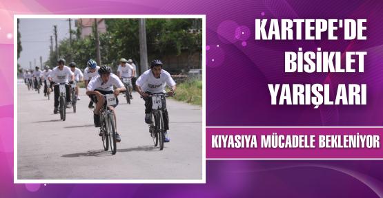 Kartepe'de bisiklet yarışları