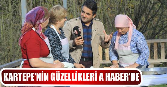 KARTEPE'NİN GÜZELLİKLERİ A HABER'DE