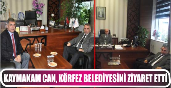 Kaymakam Dr. Hasan Hüseyin Can Körfez Belediyesini Ziyaret Etti