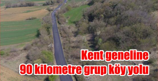 Kent geneline 90 kilometre grup köy yolu