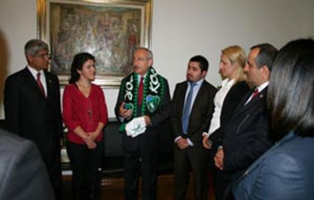 Kılıçdaroğlu CHP'li Gençleri Ağırladı