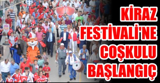 Kiraz Festivali'ne  coşkulu başlangıç