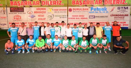 Kiraz'da Çeyrek Final İlk Maçları Oynandı