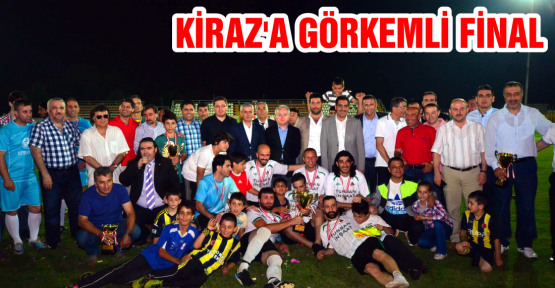 "Kiraz'da Şampiyon ""TUNSAN İNŞAAT''"