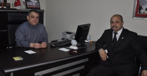 Kızılay Başkanından Gazetemize ziyaret
