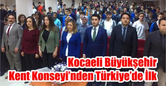 Kocaeli Büyükşehir Kent Konseyi'nden Türkiye'de İlk