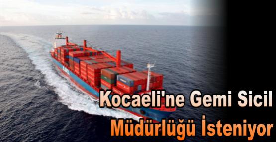 Kocaeli'ne Gemi Sicil Müdürlüğü İsteniyor