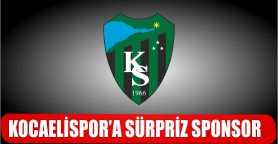 KOCAELİSPOR'A SÜRPRİZ SPONSOR.
