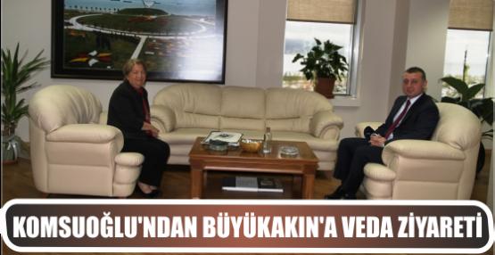 Komsuoğlu'ndan Büyükakın'a veda ziyareti