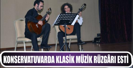 Konservatuvarda klasik müzik rüzgârı esti