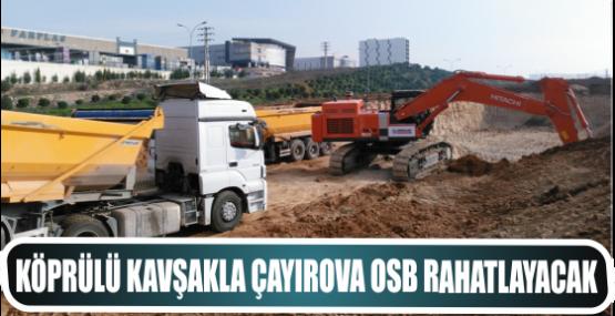 Köprülü kavşakla Çayırova OSB rahatlayacak