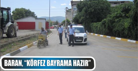 Körfez Belediyesi Bayramda da Durmayacak
