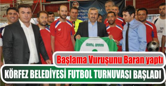 Körfez Belediyesi Futbol Turnuvası Başladı
