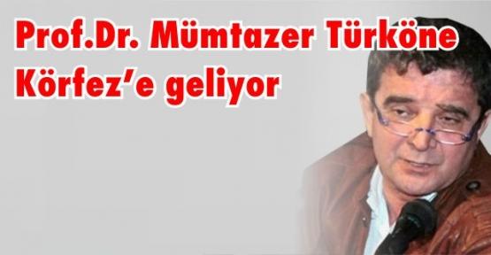 Körfez Belediyesi Prof. Dr. Mümtazer Türköne'yi getiriyor.
