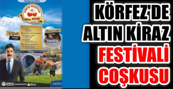 KÖRFEZ'DE ALTIN KİRAZ FESTİVALİ COŞKUSU