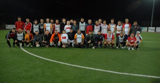 Körfez'de Futbol Show