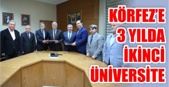 Körfez'e 3 yılda  ikinci üniversite