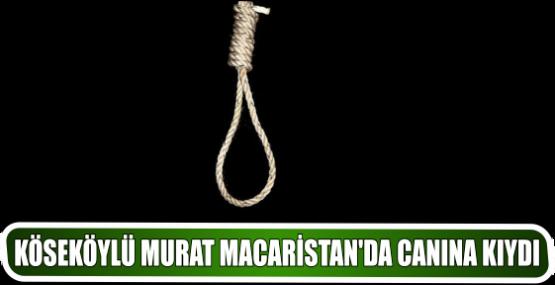 KÖSEKÖYLÜ MURAT MACARİSTAN'DA CANINA KIYDI